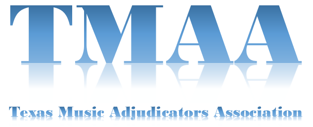 TMAA - TEXAS MUSIC ADJUDICATORS ASSOCIATION 2020